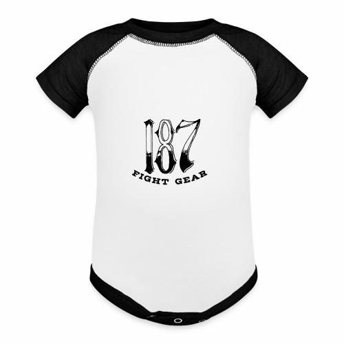 Trevor Loomes 187 Fight Gear Logo Best Sellers - Baseball Baby Bodysuit