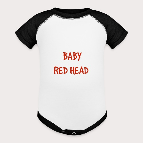 Baby RED Head - Contrast Baby Bodysuit