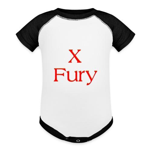 X Fury - Baseball Baby Bodysuit