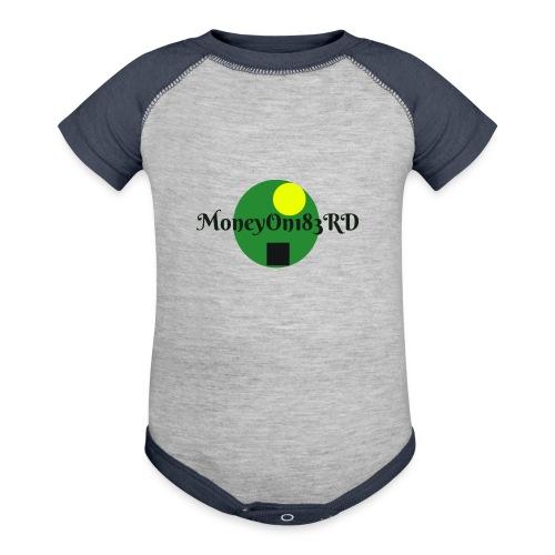 MoneyOn183rd - Contrast Baby Bodysuit
