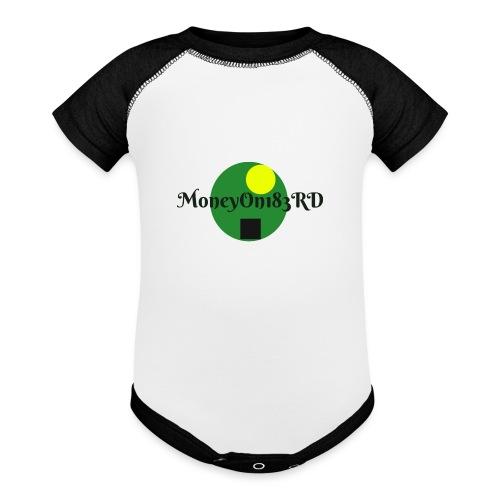 MoneyOn183rd - Baseball Baby Bodysuit