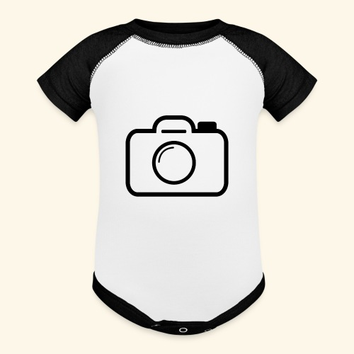 Camera - Baseball Baby Bodysuit