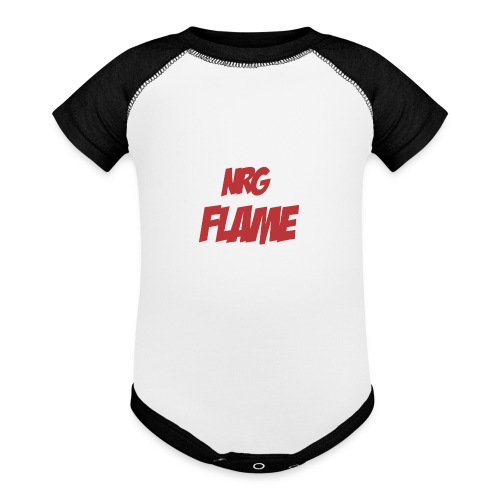 Flame For KIds - Baseball Baby Bodysuit