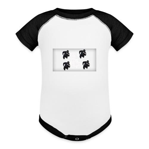 KINGKONG! - Contrast Baby Bodysuit