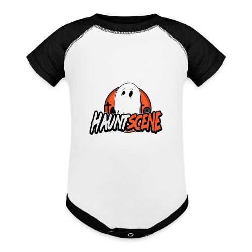 HauntScene Modern Logo 2020 - Baseball Baby Bodysuit