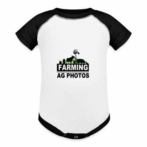 Farming Ag Photos - Baseball Baby Bodysuit