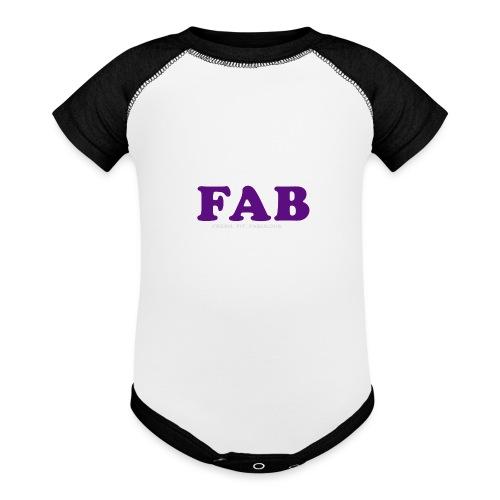 FAB Tank - Baseball Baby Bodysuit
