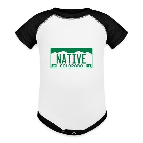 Colorado Native 2018 - Baby Contrast One Piece