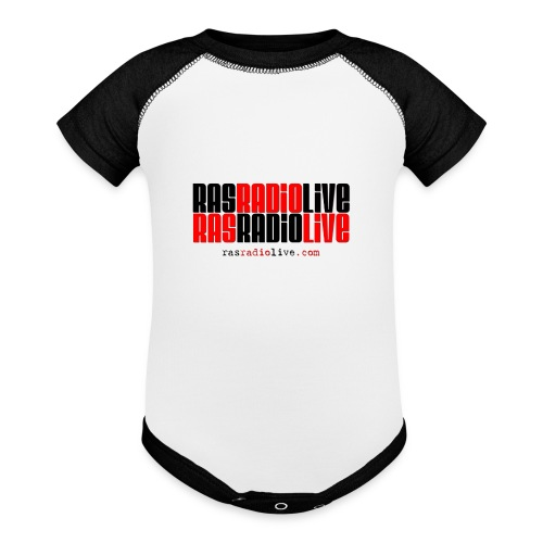 rasradiolive png - Baseball Baby Bodysuit