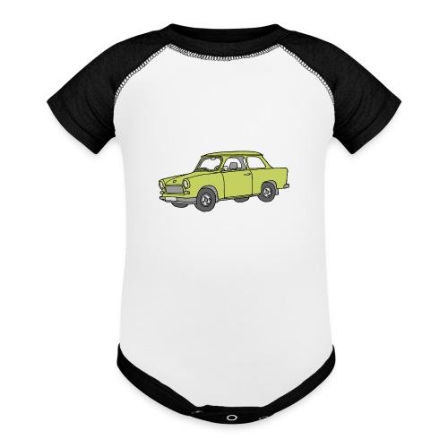 Trabant (baligreen car) - Baseball Baby Bodysuit