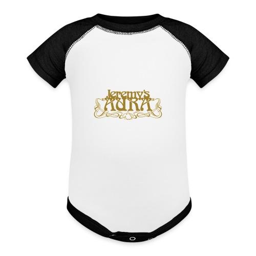 Jeremy's Art Nouveau Logo - Baseball Baby Bodysuit