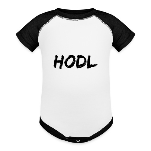 HODL - Baseball Baby Bodysuit