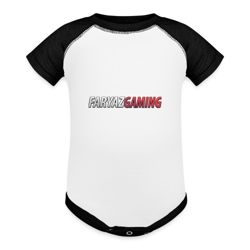 FaryazGaming Text - Baseball Baby Bodysuit