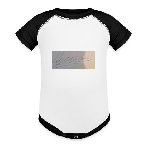 signature - Baseball Baby Bodysuit