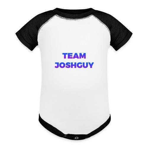 Team JoshGuy - Baseball Baby Bodysuit