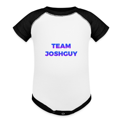 Team JoshGuy - Contrast Baby Bodysuit