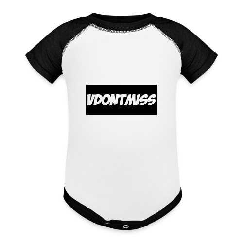 vDontMiss Nation - Baseball Baby Bodysuit
