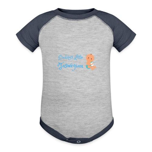Dadds Little Taswegian Boys - Baseball Baby Bodysuit