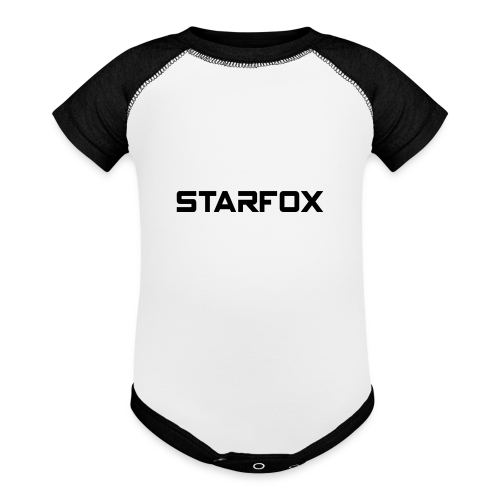 STARFOX Text - Baby Contrast One Piece