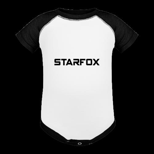 STARFOX Text - Contrast Baby Bodysuit
