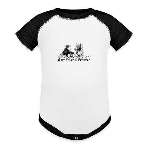 Best Friend Forever (boy) - Baseball Baby Bodysuit