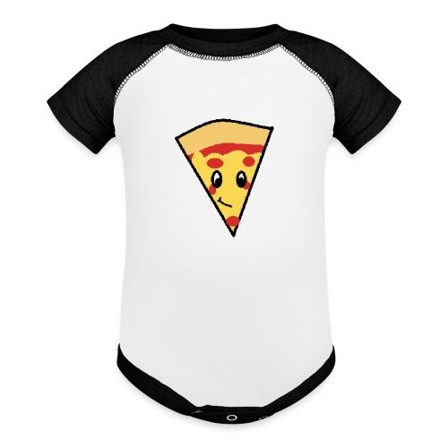 pizza 2 - Baseball Baby Bodysuit