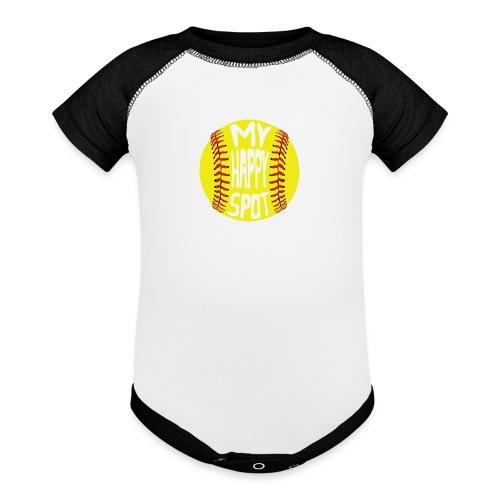 People s Republic of Burlington Softball - Baseball Baby Bodysuit