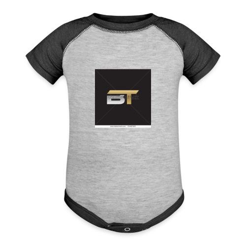 BT logo golden - Baseball Baby Bodysuit