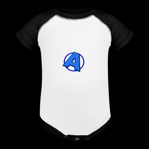 Awesomegamer Logo - Baseball Baby Bodysuit