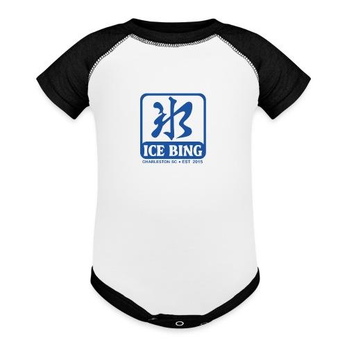 ICEBING003 - Baseball Baby Bodysuit