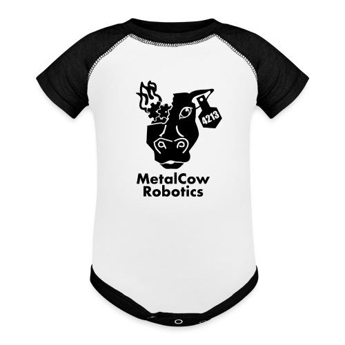 MetalCow Solid - Baseball Baby Bodysuit