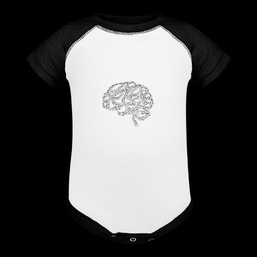 Sound of Mind | Audiophile's Brain - Baseball Baby Bodysuit