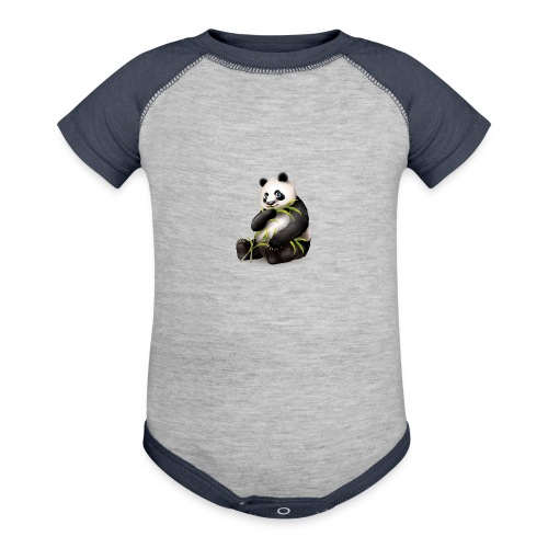 Hungry Panda - Contrast Baby Bodysuit