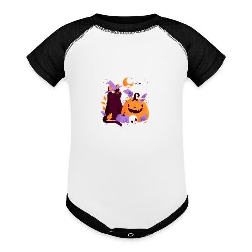 Halloween - Baseball Baby Bodysuit