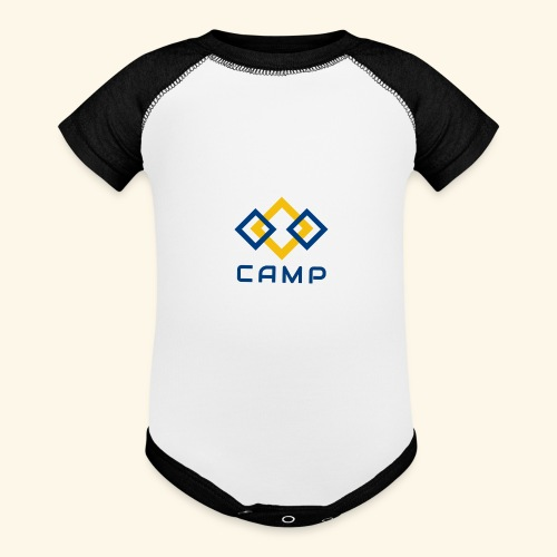 CAMP LOGO and products - Baseball Baby Bodysuit