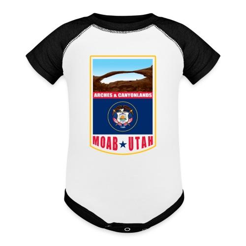 Utah - Moab, Arches & Canyonlands - Baseball Baby Bodysuit