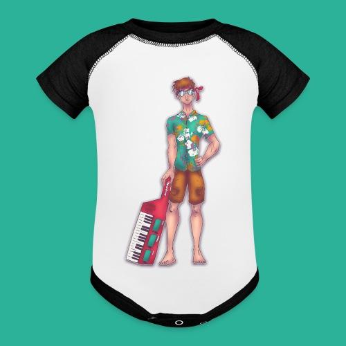 Wendal The Weed Wizard - Baseball Baby Bodysuit