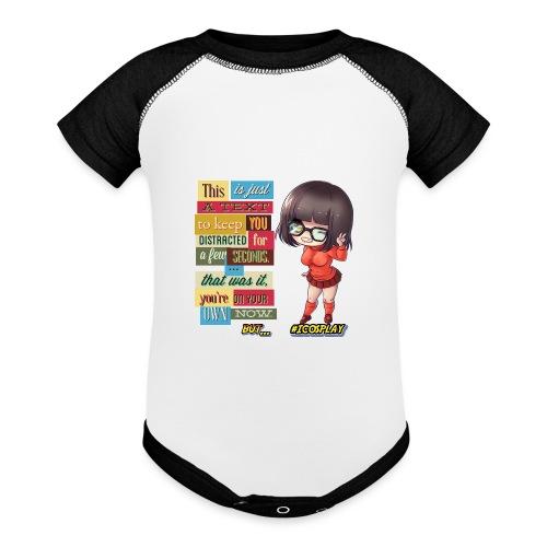 I COSPLAY - Baseball Baby Bodysuit