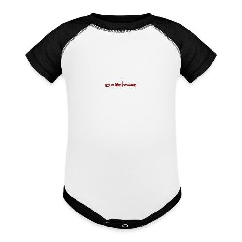 Sign1News in written ASL (Exclusive Design) - Baseball Baby Bodysuit