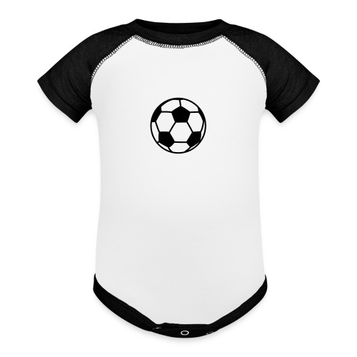 custom soccer ball team - Baseball Baby Bodysuit