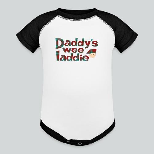 Daddy's Wee Laddie - Baseball Baby Bodysuit