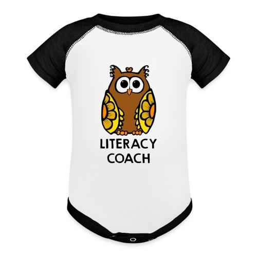 literacy coach png - Baseball Baby Bodysuit