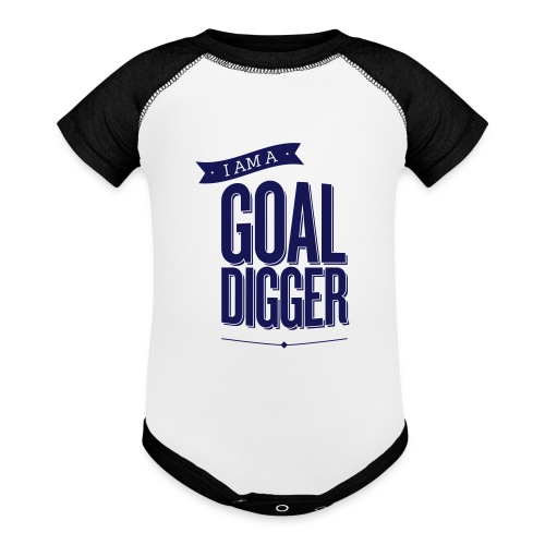 I Am A Goal Digger - Baby Contrast One Piece