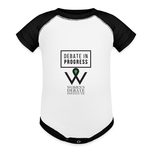 Debate in Progress - Baseball Baby Bodysuit