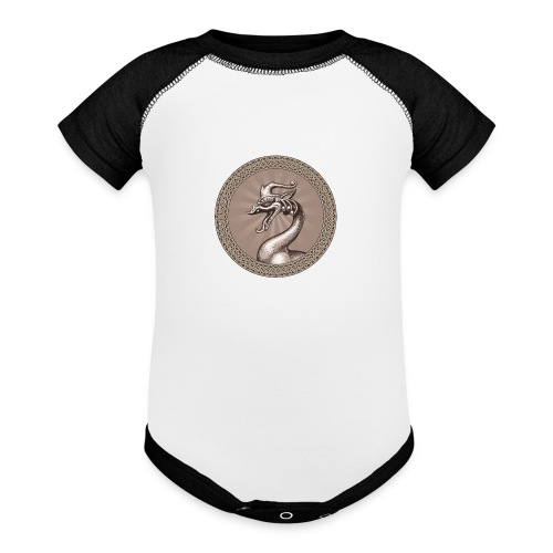 Laughing Dragon - Baseball Baby Bodysuit