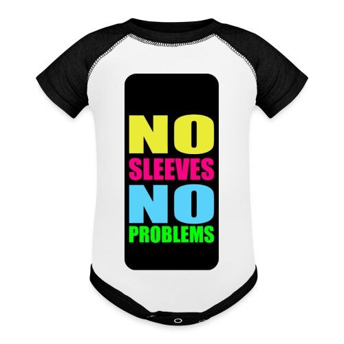 neonnosleevesiphone5 - Baseball Baby Bodysuit