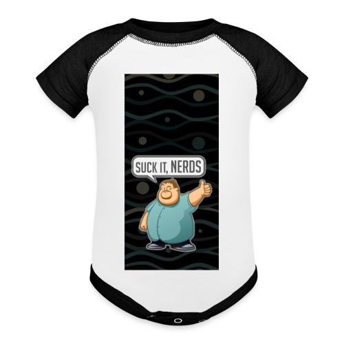 nerdiphone5 - Baseball Baby Bodysuit