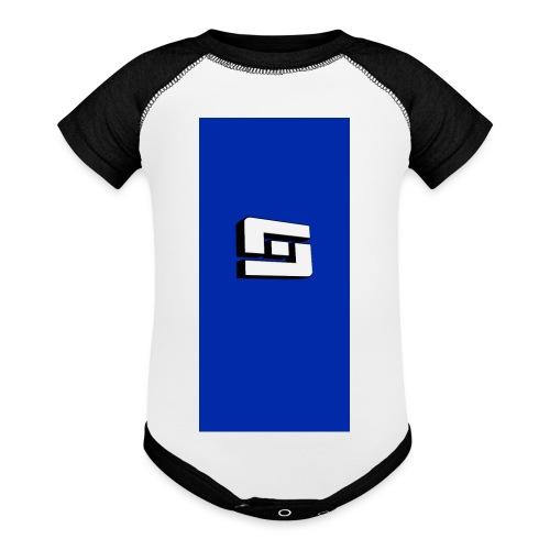 whites i5 - Baseball Baby Bodysuit