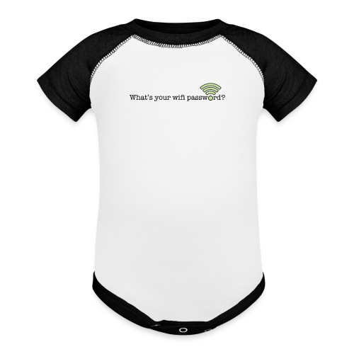 What's your wifi password? - Baseball Baby Bodysuit