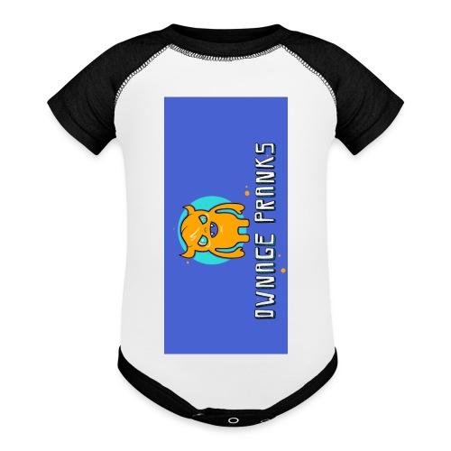 logo iphone5 - Baseball Baby Bodysuit